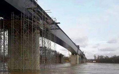 Kod Svilaja na Savi spojena dva kraka mosta na završetku koridora Vc, koji povezuje BiH s Evropom