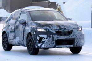 Renault Captur – zimski testovi