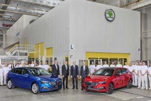 Škoda Scala – početak proizvodnje