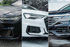 Abtov trio – Audi A6, Audi A7 i VW Touareg