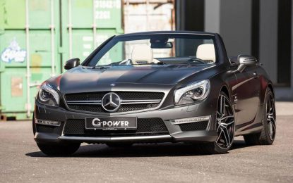 G-Power SL 63 AMG – klasični roadster sa 800 KS