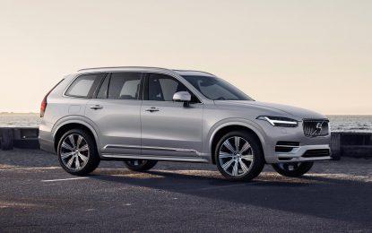 Volvo XC90 – osvježenje i smanjenje potrošnje [Galerija]