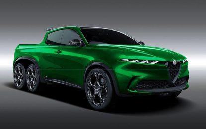 Alfa Romeo Tonale kao pick-up [Galerija]