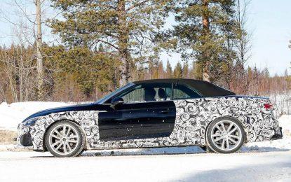 Novi Audi A5 Cabriolet sperman za skidanje kamuflaže