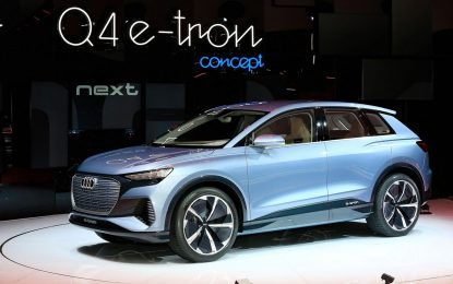 "Audi Q4 e-tron Concept ""otvorio"" Ženevski sajam automobila"