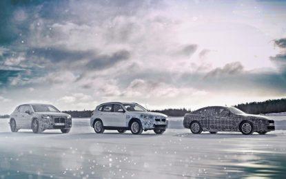 BMW iX3, BMW i4 i BMW iNext – testovi u Arktičkom krugu [Galerija i Video]