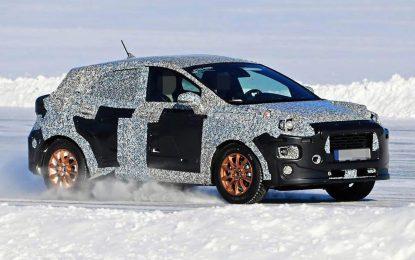 Na zimskim testovima snimljen novi Fordov crossover koji je najvjerovatnije baziran na Fiesti