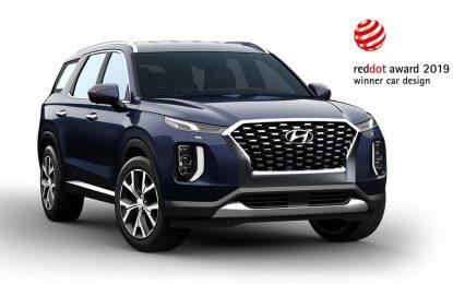 """Hyundai dobio još jedno priznanje za izuzetan dizajn: SUV Hyundai Palisade sa nagradom """"Red Dot"""""""