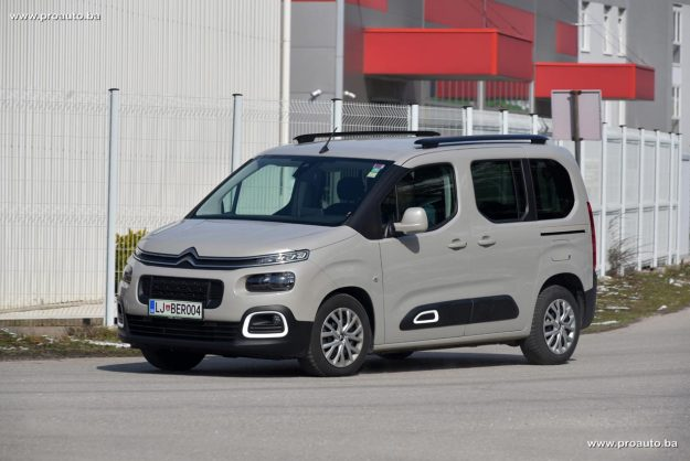 TEST – Citroen Berlingo Feel M 1.5 BlueHDi 100 BVM5 Euro 6.2
