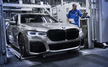 Započinje proizvodnja novih modela BMW 7 Series Sedan [Galerija]
