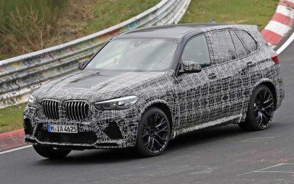 BMW X5 M – završni testovi na Nürburgringu