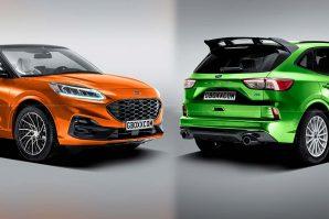 Ford Kuga Cabrio i Escape RS – za sada samo renderi