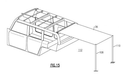 Ford patentirao novi platneni sklopivi krov [Galerija]