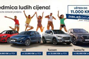 Sedmica ludih cijena kod Hyundaija