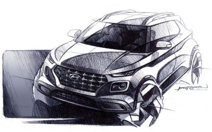 Novi crteži novog crossovera Hyundai Venue prije zvaničnog predstavljanja