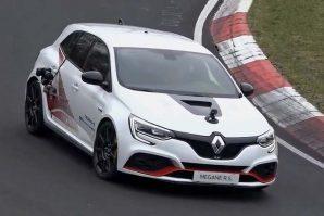 Renault Megane RS Trophy-R – snimanje promotivnog filma [Video]