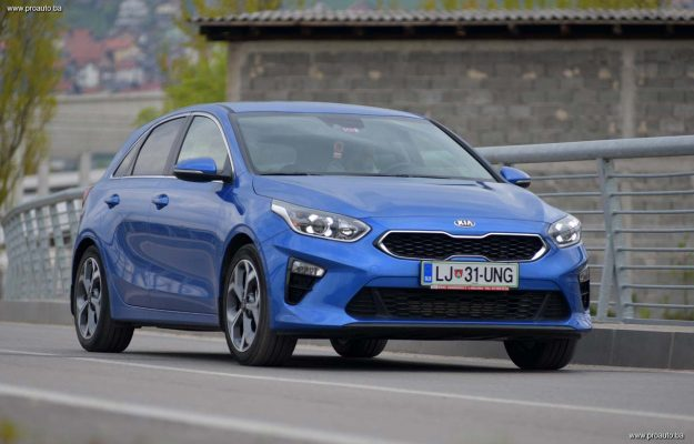TEST – Kia Ceed 1.0 T-GDi 6MT EX Fresh