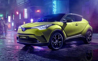 "Toyota C-HR – posebna edicija ""Neon Lime powered by JBL"""