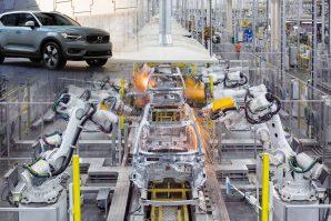 Osim u Belgiji, SUV Volvo XC40 proizvodiće se i u Kini