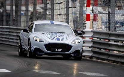 Obavljena prva javna vožnja Aston Martina Rapide E, koji kreće u proizvodnju krajem godine [Galerija]