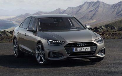 Obnovljena kompletna gama modela Audi A4