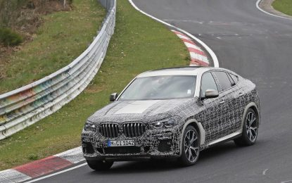 BMW zateže bore na X6 [Galerija]