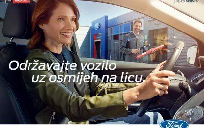 Počela proljetna servisna akcija u ovlaštenom Fordovom servisu u Sarajevu