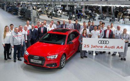 Audi A4 slavi 25. rođendan