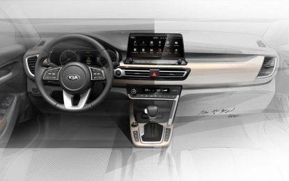 Kia otkriva skice unutrašnjosti novog malog SUV-a