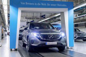 Započinje proizvodnja električnog EQC-a u pogonu Mercedes-Benz u Bremenu [Galerija i Video]