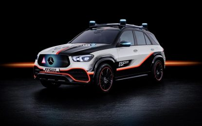 Mercedes-Benz Experimental Safety Vehicle ESF 2019 – konceptualna sigurnost [Galerija]
