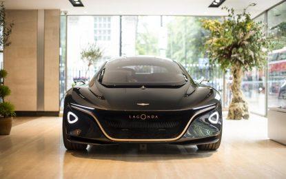"""Aston Martin Lagonda – u centru Londona """"kućna"""" promocija električne sportske mobilnosti [Galerija]"""
