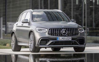 Obnovljeni Mercedes-Benz GLC i GLC Coupe [Galerija]
