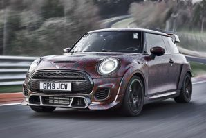 Mini John Cooper Works GP – zagrijavanje na Nürburgringu [Galerija i Video]