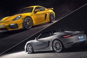 Porsche širi porodicu 718 – 718 Spyder i 718 Cayman GT4 [Galerija]