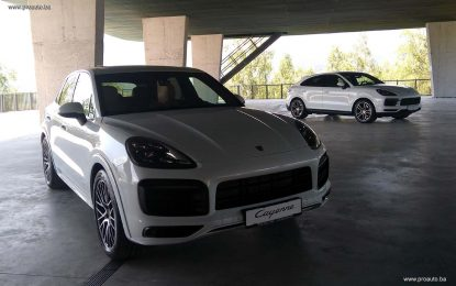 Statičkom promocijom, u BiH krenula prodaja Porschea Cayenne Coupe [Galerija]