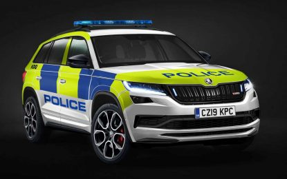 Škoda Kodiaq vRS za britanske policijske snage