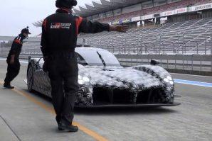 Toyota za WEC testira novi bolid na stazi Fuji [Video]