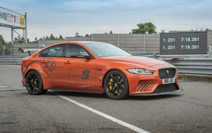 Jaguar XE SV Project 8 postavio novi rekord Nürburgringa [Video]