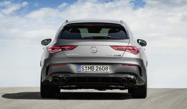 Mercedes-AMG CLA 45 S 4Matic+ Shooting Brake [2019]