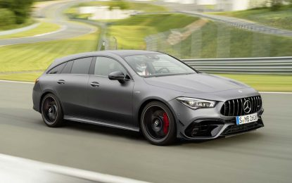 Za Mercedes CLA Shooting Brake pripremljen AMG tretman [Galerija i Video]
