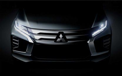 Mitsubishi će 25. jula na Tajlandu predstaviti redizajnirani Pajero Sport
