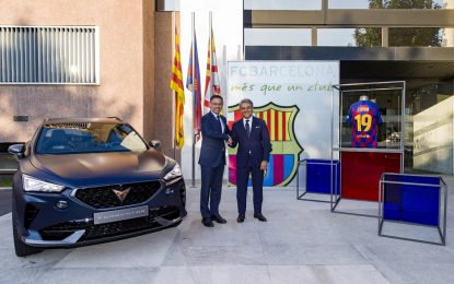 Cupra i FC Barcelona uspostavljaju globalno savezništvo