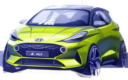 Hyundai objavio prvu skicu novog Hyundaija i10