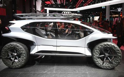 Audi AI:Trail – električni off-roader budućnosti