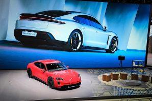 Porsche Taycan – prvi put u crvenom izdanju [Galerija]