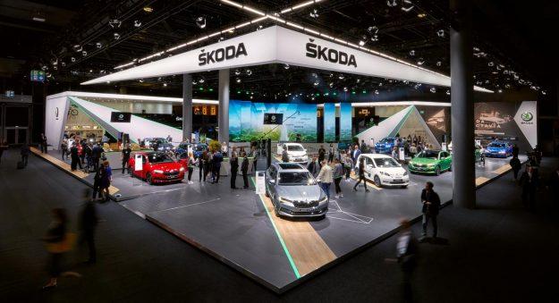 Škoda na Frankfurt IAA 2019