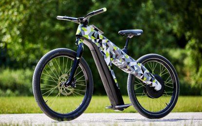 Škoda Klement – konceptni električni bicikl