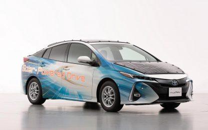 Toyota testira solarni Prius [Galerija]