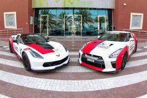 Chevrolet Corvette i Nissan GT-R za proširenje voznog parka Službe hitne medicinske pomoći u Dubaiju